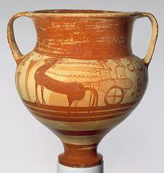 Mycenaean chariot krater [Mycenaean] (74.51.966) | Heilbrunn Timeline of Art History | The Metropolitan Museum of Art