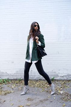 GREEN & SUEDE:Not Your Standard waysify