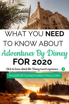 Adventures By Disney 2020 itineraries bring new and updated adventures, including exclusives and promotions.Find out more about the Adventures By Disney 2020 offerings right here, so you can book early and save for a magical travel experience. Disney Vacation Planning, Walt Disney World Vacations, Disney Resorts, Disney Travel, Disney Cruise Line, Disney Trips, Disney Moms, Disney Family, Disney Fun