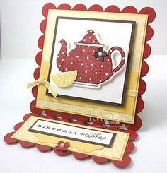 this would be a cute card to use my new SU tbig teacup stamp on