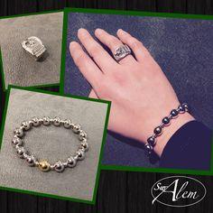 ¿Te gusta nuestra nueva pulsera? #news #swalem #joyas #silver #ring #bracelet #novedades #noviembre #fashion #moda #hand Fashion Moda, Heart Charm, Bracelets, Jewelry, November, Bangle Bracelets, Jewels, Jewlery, Jewerly
