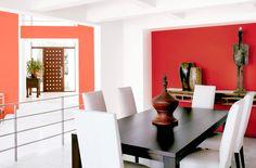 Las mesas rectangulares optimizan el espacio de los comedores pequeños  #MesaComedor #MesaRectangular #Comedor6Puestos  www.easy.cl