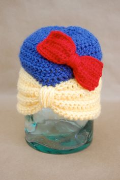 Disney Princess Hat Snow White by ImCountingCreations on Etsy, $25.00