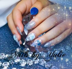 Quinceañera Nails. A special day...    special moment...    A day that she will never forget