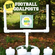 Kid-Friendly Bridal Shower, DIY Football Goal Post Craft and Bird Themed Baby Showers | Catch My Party