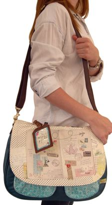 Bon Voyage Satchel from Disaster Designs