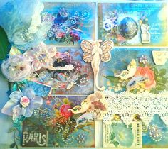 Pocket page by Rhue Chantal,  using a 12 x 12 page! Very fun to make!