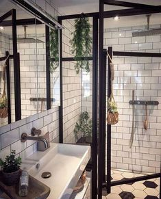 helpful ideas for a bright bathroom - we love home decor - . helpful ideas for a bright bathroom - We Love Home Decor - # for # Needs # a # farm house # fixer # flair # with Bad S. Bathroom Interior, Modern Bathroom, Small Bathroom, Master Bathroom, Bathroom Ideas, Washroom, Bathroom Plants, Bathroom Cabinets, Bathroom Mirrors
