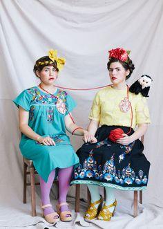 Disfraz del cuadro Las dos Fridas