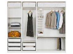 for small closet Cool-White-IKEA-Pax-Closet-System.jpg 800×600 pixels