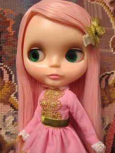 My Pink Re-rooted Kenner Blythe