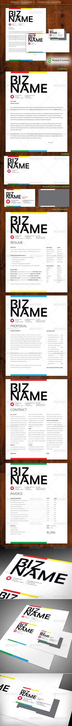 Clean Creative Service Contract for your Business Business - service contract