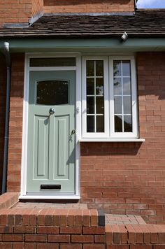 Rockdoor Newark in Chartwell Green. Rockdoor manufacture the most secure Front doors, Back Doors and Barn Doors in the UK - Design your dream door today at www.rockdoor.com