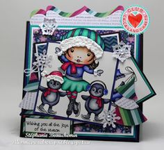 La-La Land Crafts Inspiration and Tutorial Blog: Club La-La Land Crafts NOVEMBER 2015 Kit Showcase - Week 4