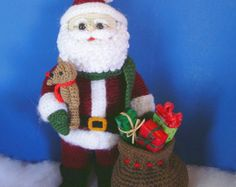 WOODLAND SANTA PDF Crochet Pattern (English only)