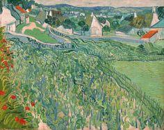 Vincent van Gogh / Vineyards at Auvers, 1890