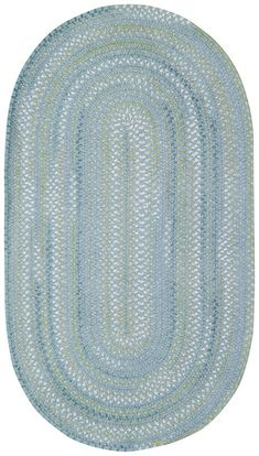 Iridescence Rug in Medium Blue
