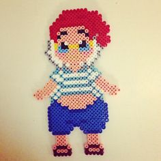 Peter Pan Mr. Smee hama perler beads by pagey163