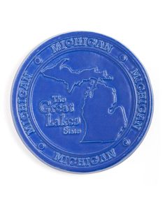 "Michigan Trivet (7"")"