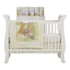 Nursery Bedding For The Baby Pooh Bearcrib