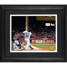 Mounted Memories Detroit Tigers Magglio Ordonez 2006 ALCS Home Run 8x10 Framed Photograph