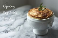 Feasting at Home: Spring Vegetable Pot Pie