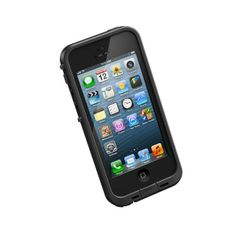 'LifeProof frē for iPhone 5 is the thinnest, lightest, strongest all-protective case ever created. frē delivers the waterproof, dirt-proof, snow-proof and shockproof protection you expect from LifeProof.' It comes in 10 different colors as well. Iphone 5 Cases, 5s Cases, Iphone Se, Apple Iphone 5, Ipod Touch, Cell Phone Accessories, Tech Accessories, Protective Cases, 3 D