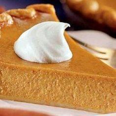 Pumpkin Pie for Diabetics Recipe..ready to make holiday 2013.❤️❤️