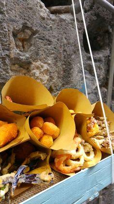 Show Us Your Takeaway! Fries fried deep naples napoli neapolitan street food seafood nobody