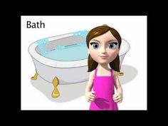 sign for bath