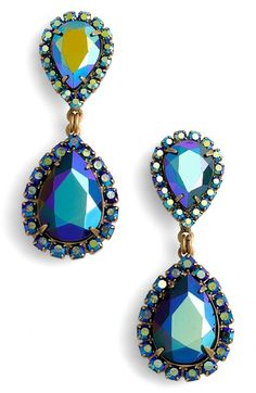 Loren Hope Crystal Drop Earrings available at #Nordstrom