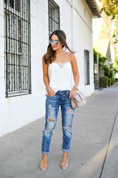 How to Dress Up Boyfriend Jeans                              …
