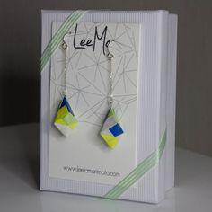 Ayano Origami Earrings. $18.00, via Etsy.