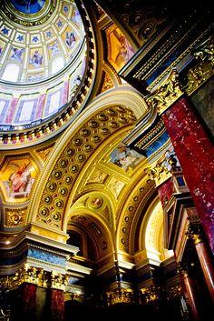 Budapest. St Stephen's Basilica