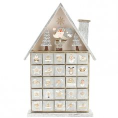 Wooden Advent Calendar Box