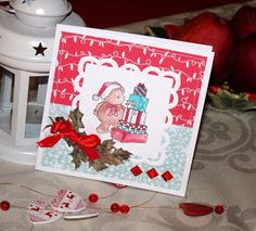 Kika's Designs : Gift Stack Teddy Bear