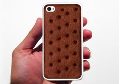 That cool idia !!    Ice Cream Sandwich - iPhone Cases for Food Lovers from Food & Wine