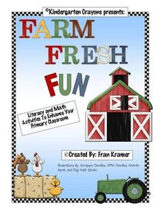 Howdy Folks!This packet is based on a farm theme and is the perfect compliment to your spring curriculum. It is full of literacy and math activit...