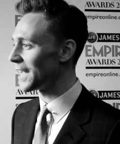 Tom Hiddleston makes these kind of faces. <--- still adorable