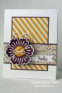 handmade greeting card: Mixed Bunch of Moonlight ... like the sketch design and coordinating Fall colors in the paprer and ink ... Stampin'UP!