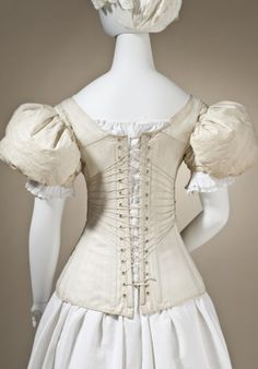 Corset, England 1830-1840  © 2010 Museum Associates/LACMA