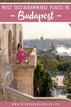 Are you looking for the most instagrammable places in Budapest? Trust me, as a local I know the best photography places in Budapest and in this guide I will share all the best Budapest Instagram spots with you! #budapest #hungary #instagrammable   Budapest Photos   Best Instagram Spots in Budapest   Budapest Photography Guide   Best things do to in Budapest   Most beautiful places in Budapest   What to see in Budapest   Best views in Budapest   Best Instagram photo locations in Budapest Europe Travel Guide, Europe Destinations, Travel Guides, Travel Advice, Photography Guide, Travel Photography, Budapest Travel, Hungary Travel, Best Instagram Photos