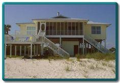 Alligator Point beach house rental