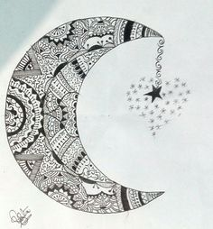 1st attempt #Zentangle #design  ☺☺