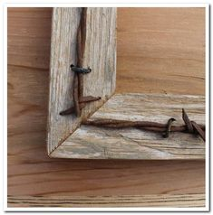 New barn wood projects rustic barbed wire Ideas Barn Wood Crafts, Wooden Pallet Projects, Rustic Crafts, Wire Crafts, Pallet Ideas, Barn Wood Picture Frames, Picture Frame Crafts, Country Picture Frames, Rustic Pictures