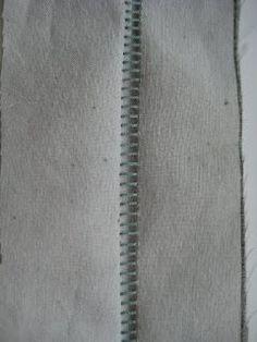 Serger Saturday: Flatlock Stitching