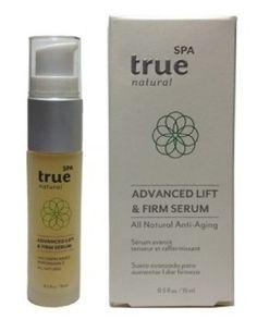 True Natural Spa Advanced Lift & Firm Serum {Review}