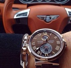 Ulysse Nardin | Bentley | Sophisticated Luxury Blog:. (youngsophisticatedluxury.tumblr.com http://youngsophisticatedluxury.tumblr.com/