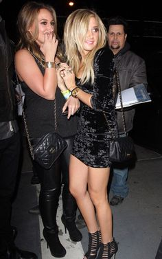 tisdale with haylie duff.