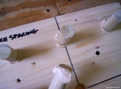Glue the Wooden Dowels in Place Organic Gardening, Plants, How To Make, Plant, Organic Farming, Planets